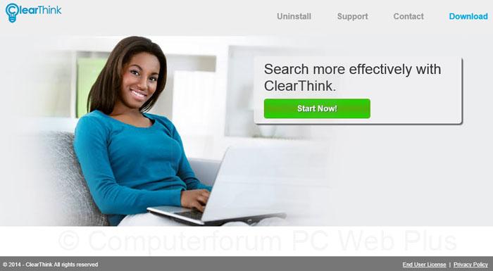 ClearThink verwijderen