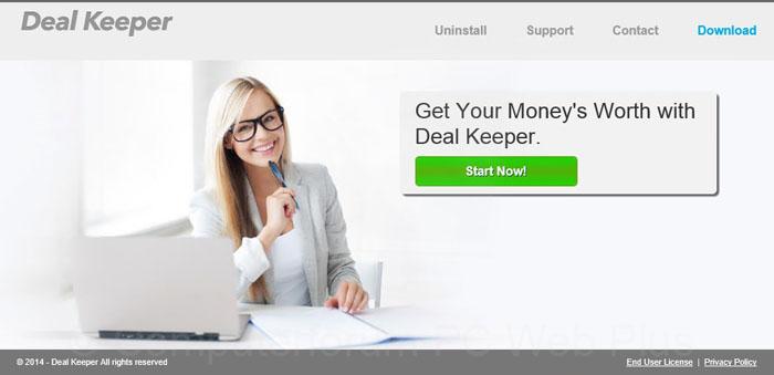Deal Keeper verwijderen