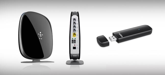 Dualbandrouter voor sneller draadloos internet.