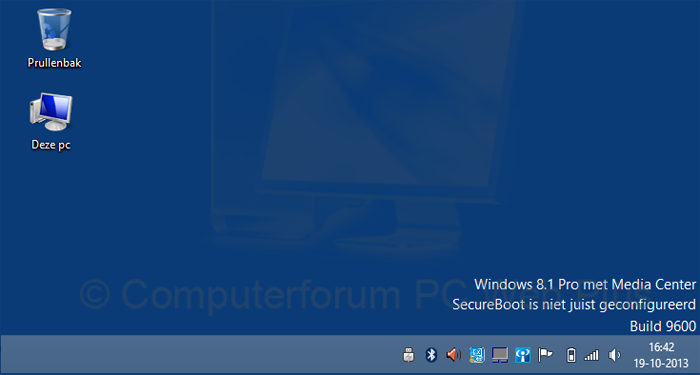 SecureBoot is niet juist geconfigureerd [Windows 8.1]