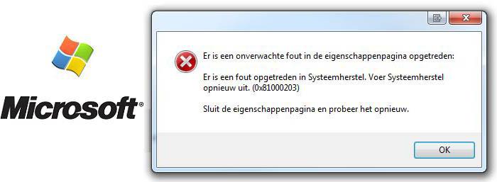 Systeemherstel werkt niet meer
