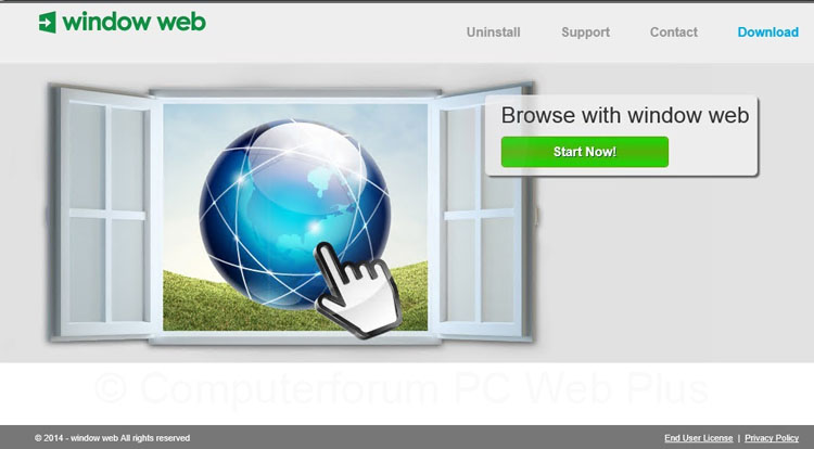 Window Web verwijderen
