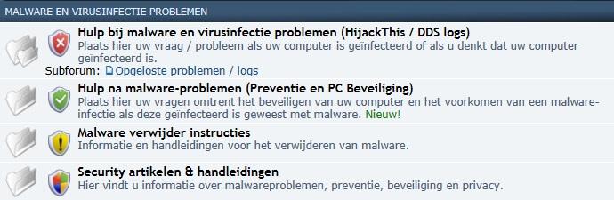 Gratis hulp bij malware en virusinfectie problemen