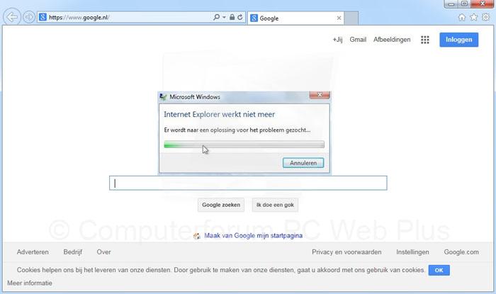 Internet explorer werkt niet meer [oplossing]