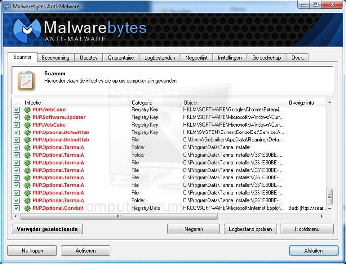 Malwarebytes Anti-Malware verklaart oorlog aan toolbars