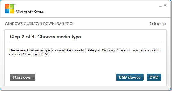 Bootable USB selecteren