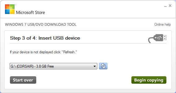 USB Stick aansluiten en selecteren